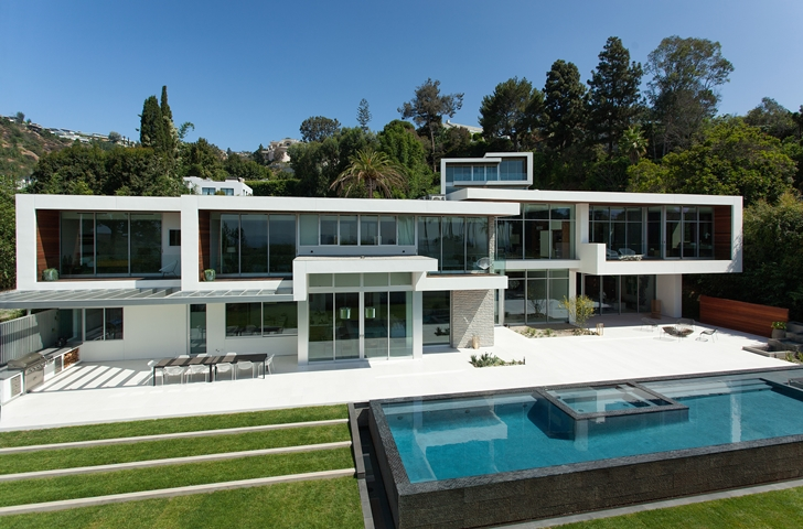 The Expression of a Modern Mansion by Hagy Belzberg Homesthetics minimalist style