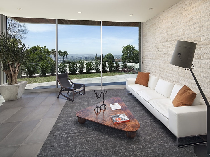The Expression of a Modern Mansion by Hagy Belzberg Homesthetics modern living room