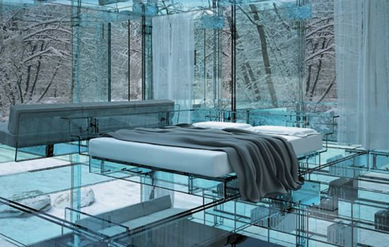 The Santambrogio Milano Glass Houses Living Without Boundaries extraclear glass