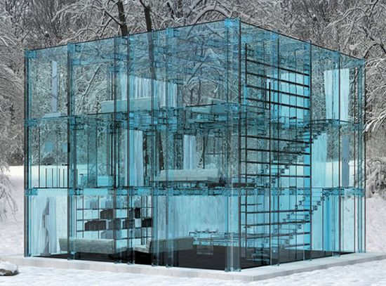 The Santambrogio Milano Glass Houses Living Without Boundaries modern mansion