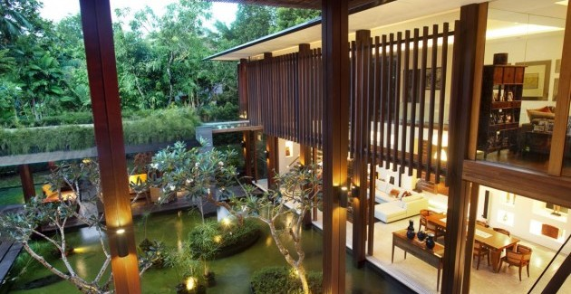 The sun house by guz architects a hevean of green in singapore displayed in a
