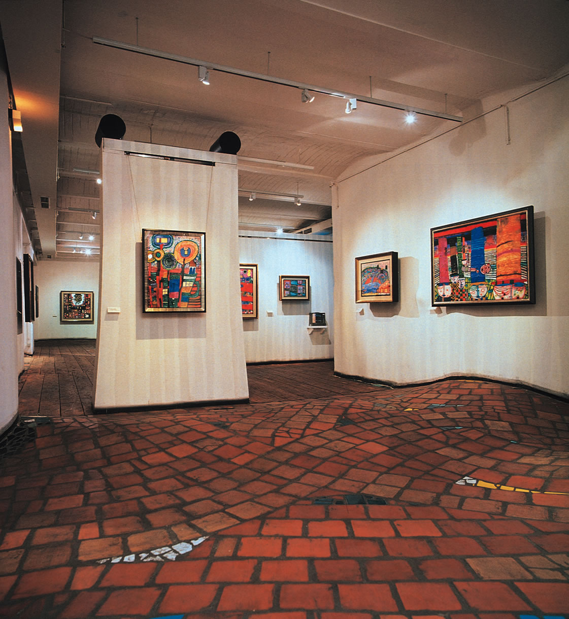 The Uneven Floor by Hundertwasser Homesthetics