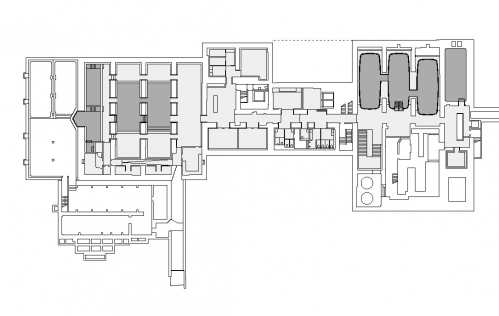 Thermalbad Zürich-Transforming a Brewery Into a Spa plan