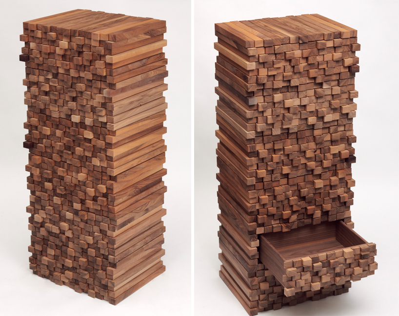 Woodenheap Walnut Cabinets by Boris Dennler