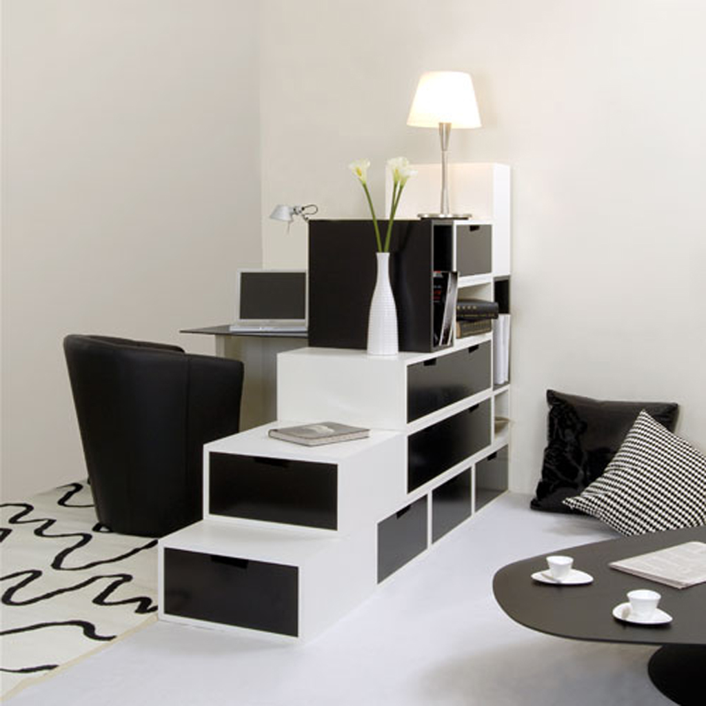 Interior Design Ideas: Black And White Contemporary Interior Design Ideas For