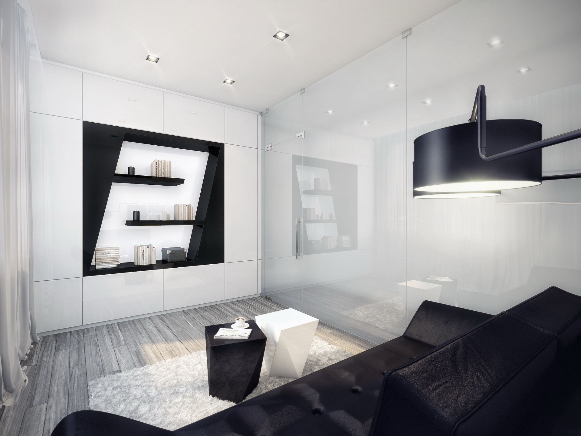 all white and black design amazing clean smooth and bright white living room in black and white