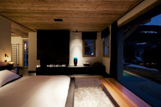 master bedroom design cabin in the woods mouintain retreat homesthetics luxurious-chalet-of-natural-wood-in-the-french-alps-1-554x369 (1)