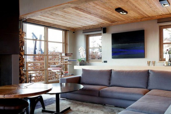 living room interior design cabin in the woods mouintain retreat homesthetics luxurious-chalet-of-natural-wood-in-the-french-alps-1-554x369 (1)