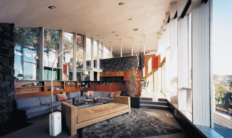 homesthetics rainbow Garcia House by John Lautner - Restoration (6)
