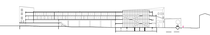 plan blueprint of modern ARTEM Gallery and Cosmopolitan Promenade realized by ANMA homesthetics (13)