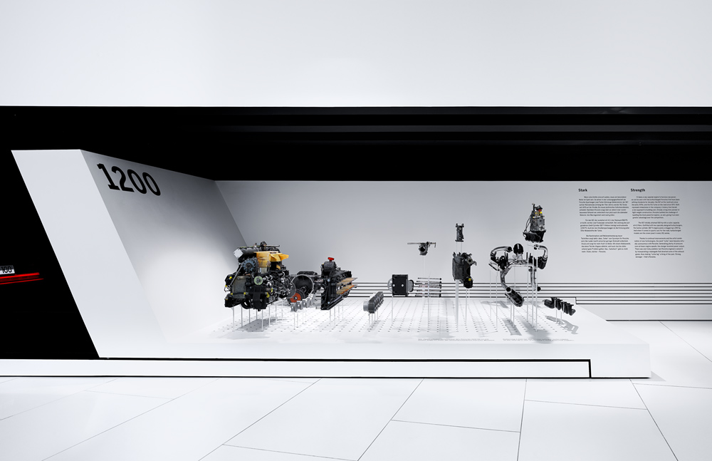 Porsche Museum in Stuttgart – Germany designed by Delugan Meissl contemporary display of modern design