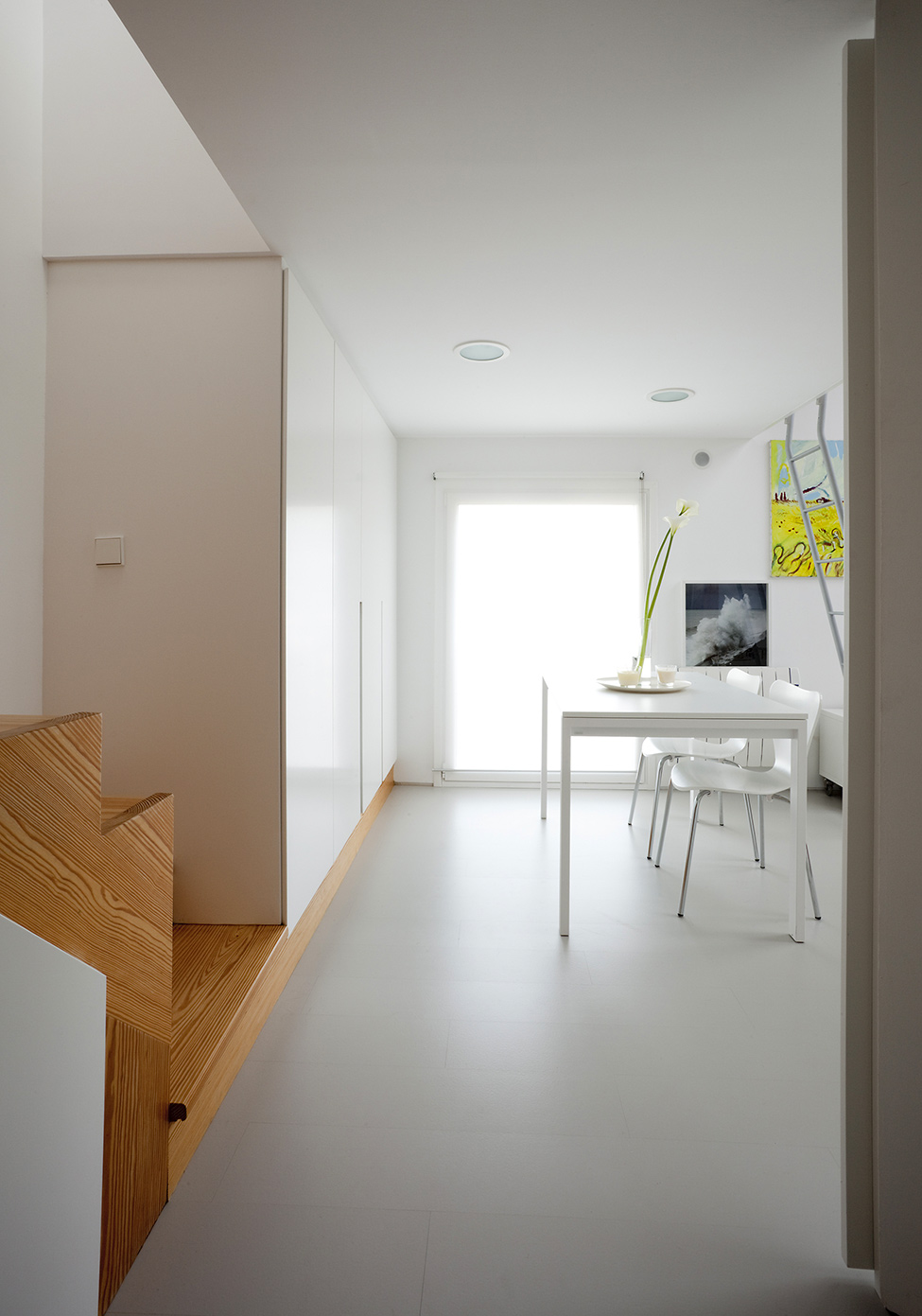 Creative Space Saving Solution For Small Flats By Marta Badiola Homesthetics Inspiring Ideas