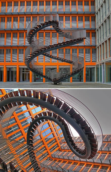 12 One of a Kind Round Staircase Designs For Your Modern Mansion intricate