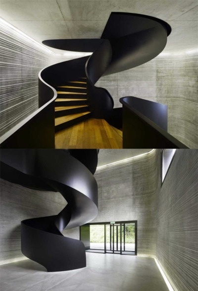 12 One of a Kind Round Staircase Designs For Your Modern Mansion curved
