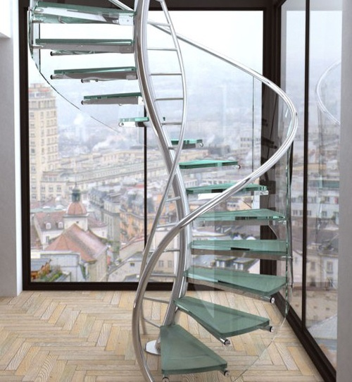 ... 12 One Of A Kind Round Staircase Designs For Your Modern Mansion Modern  ...