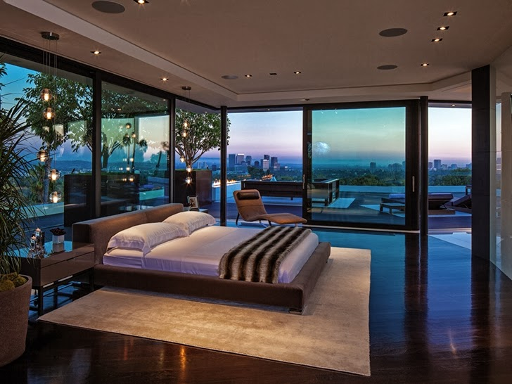 modern mansion bedroom 1201 laurel way cliff view luxurious modern mansions in 12604