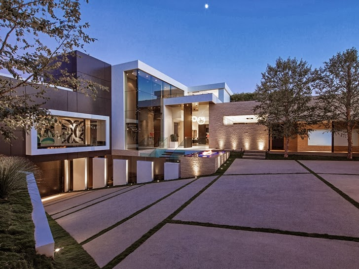 1201 Laurel Way Cliff View Luxurious Modern Mansions In