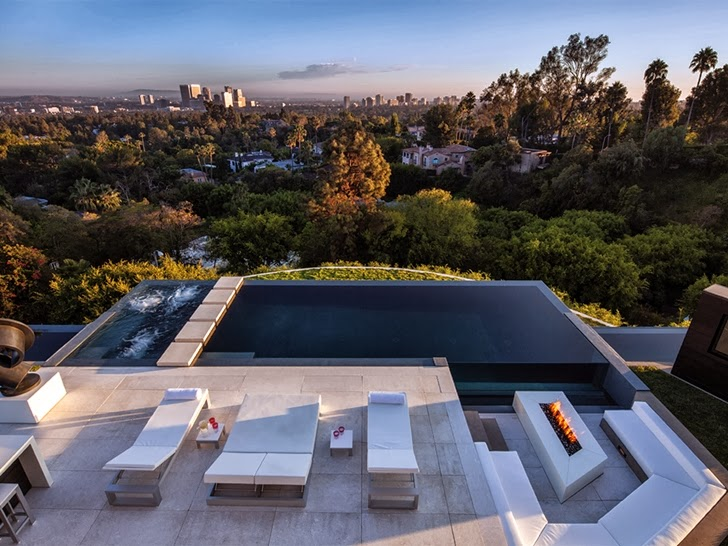 1201 Laurel Way Cliff View Luxurious Modern Mansions In Beverly Hills California