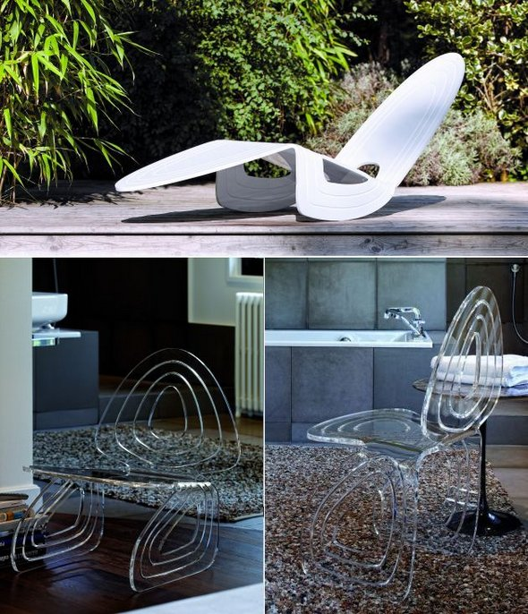 13 Innovative Sitting Places to Relax contemporary shape