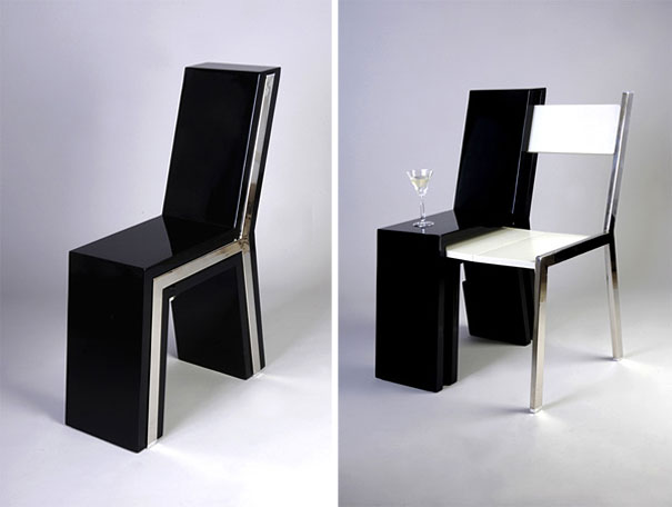 13 Innovative Sitting Places to Relax black an white
