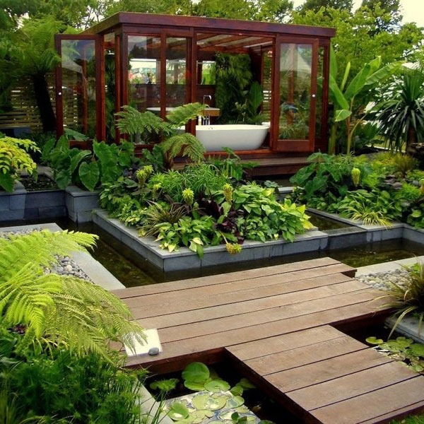 15 Fresh Bathroom Designs Meant to Inspire You natural environment