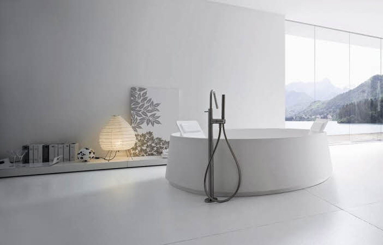 15 Fresh Bathroom Designs Meant to Inspire You  all white design