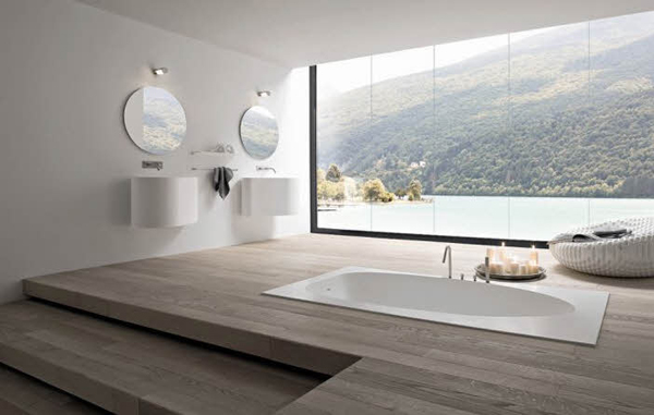 15 Fresh Bathroom Designs Meant to Inspire You  connection