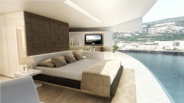 small bedroom design 2022 Wold Cup Qatar`s Hosting Idea-Floating Hotels-Experimental Architecture  (3)