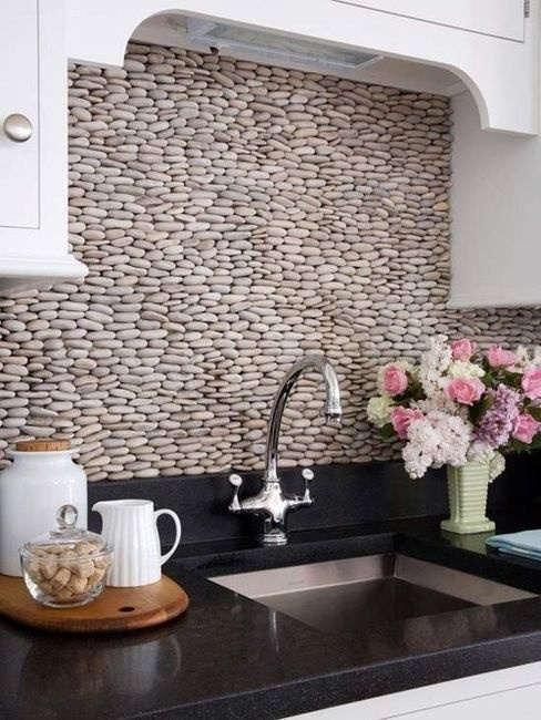 stones behind the kitchen counter 53 Excellent Unusual Interior Designs Meant to Feed Your Imagination  modern mansion wierd interior designs homesthetics (25)