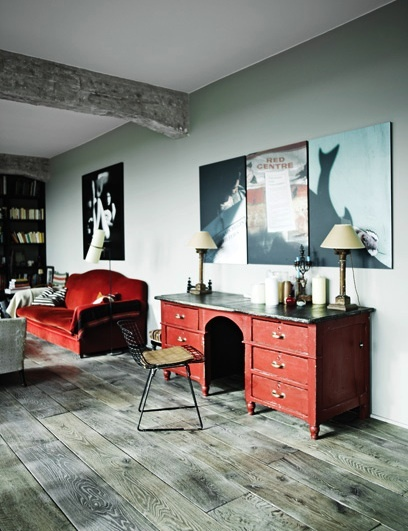 red desk 53 Excellent Unusual Interior Designs Meant to Feed Your Imagination  modern mansion wierd interior designs homesthetics (25)
