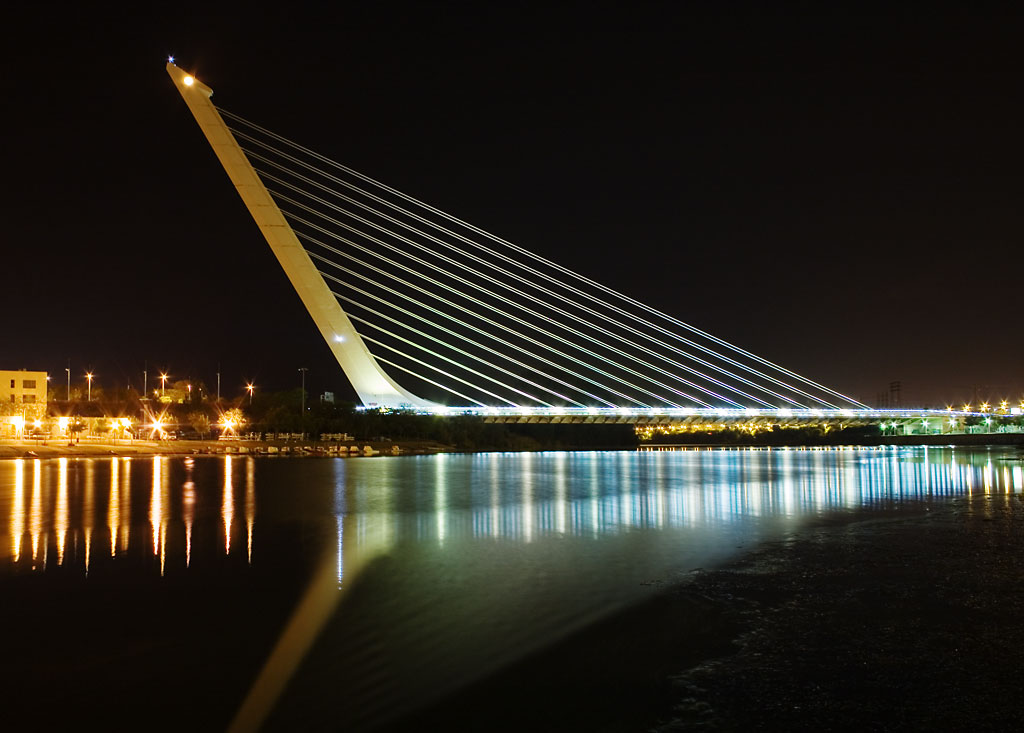 A Different Design-Alamillo Bridge in Seville by Santiago Calatrava Homesthetics