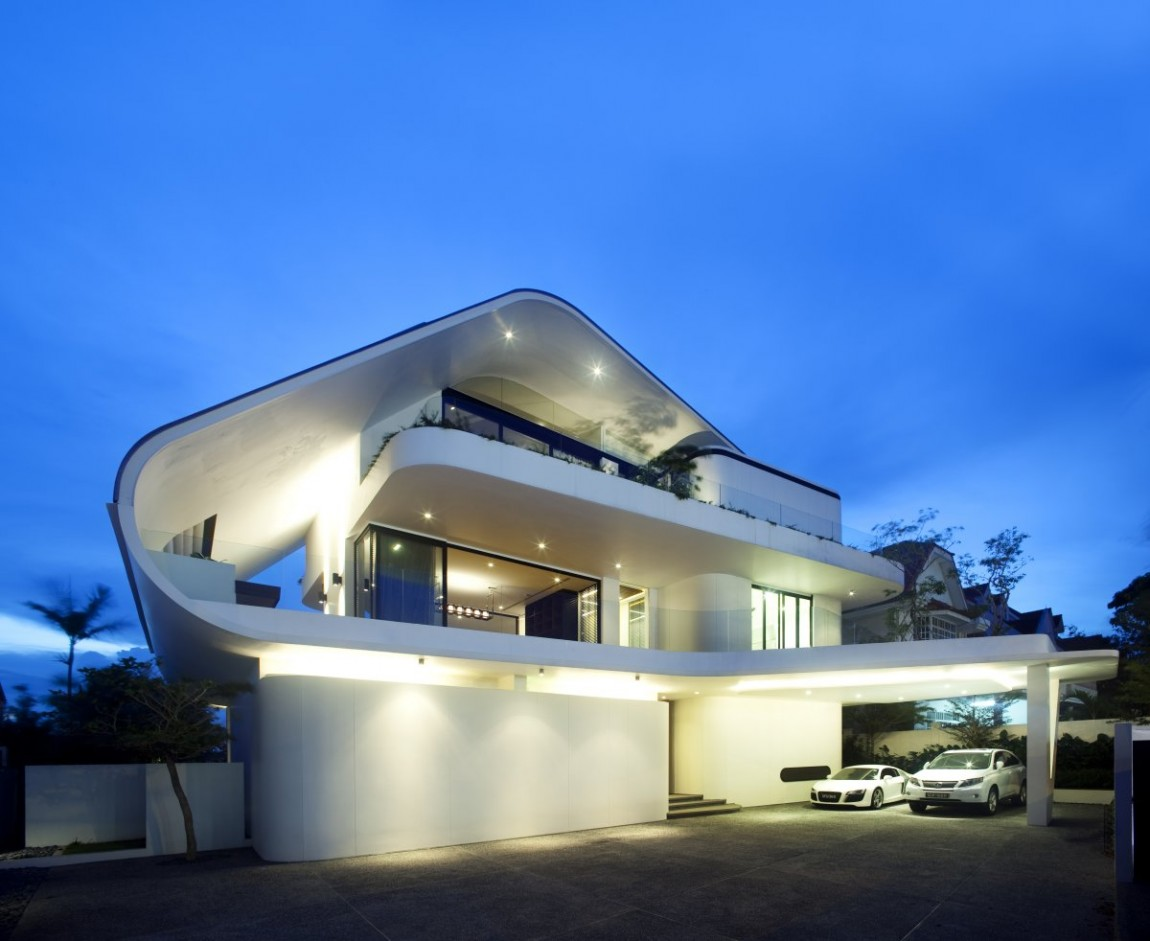 An Amazing Modern Mansion in Singapore- The Ninety7 ... on Amazing Modern Houses  id=63859