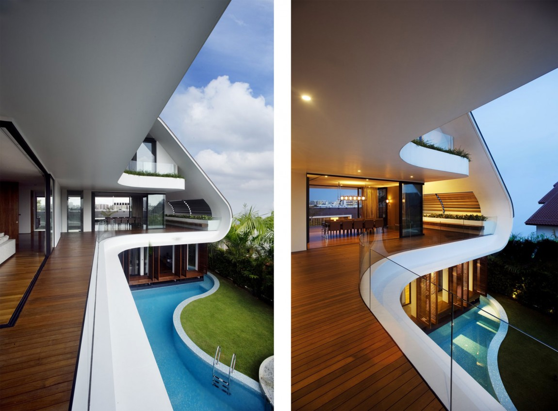 An Amazing Modern Mansion in Singapore- The Ninety7 @ Siglap by Aamer Architects Homesthetics