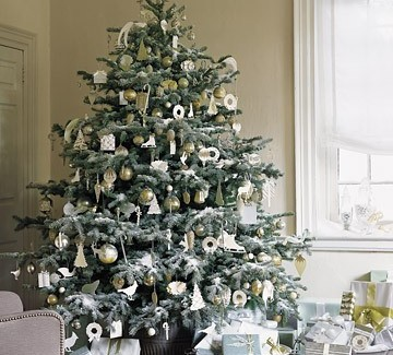 Beautiful Christmas Trees to Cheer Your Holidays silver