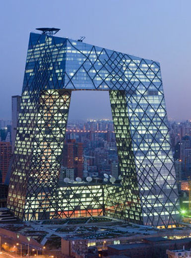 China Central Television Headquarters by OMA Homesthetics