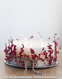 Creative Amp Inspiring Modern Christmas Candles Decorations