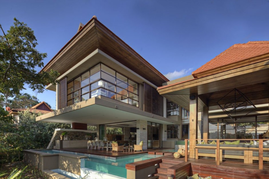 Luxurious contemporary modern south african sgnw house by for Modern home designs south africa