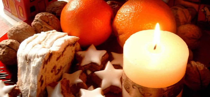 oranges and candles Creative&Inspiring Modern Christmas Candles Decorations (1)