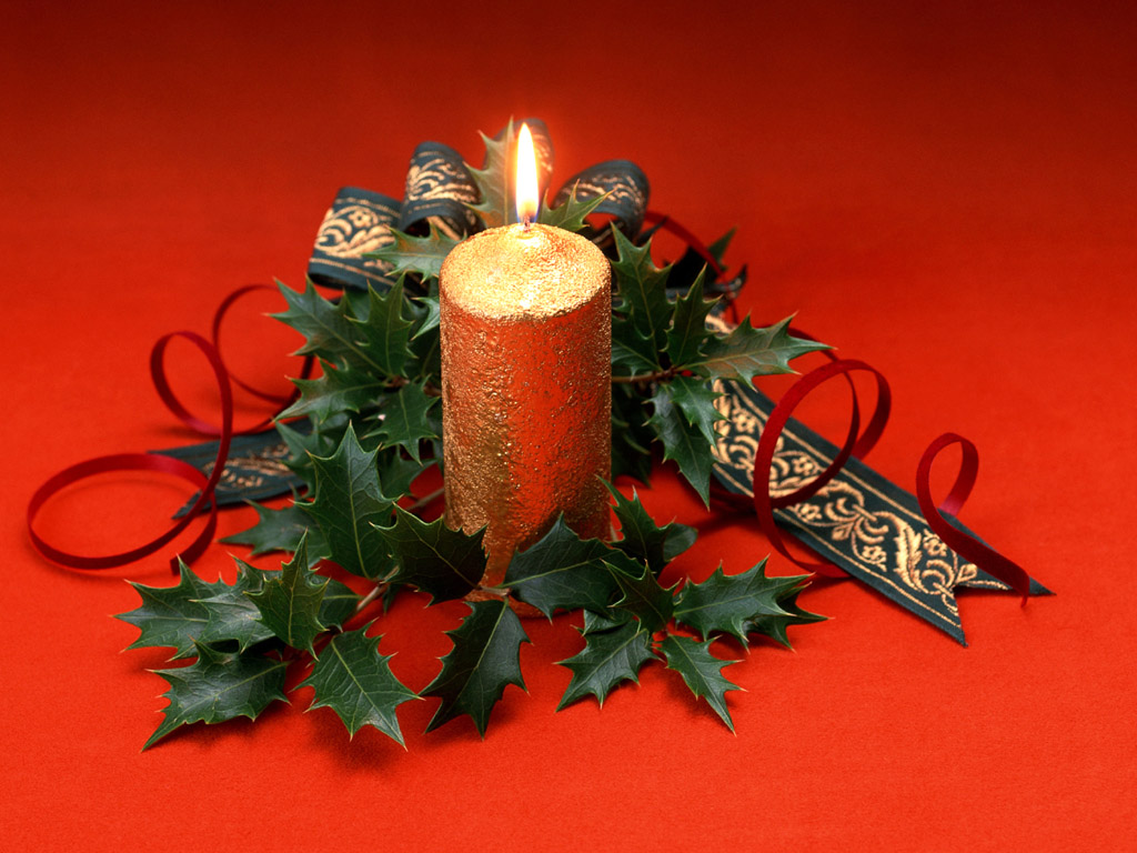 simple Creative&Inspiring Modern Christmas Candles Decorations (1)