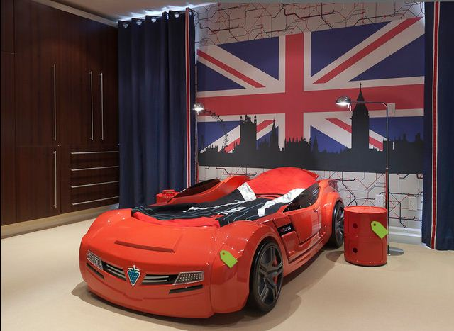 Red Car Bed Creative U0026 Inspiring Modern Car Bedroom Interior Designs Ideas  Dream Bedroom (15