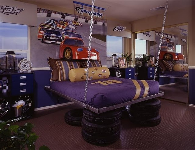 Elegant Purple Car Creative U0026 Inspiring Modern Car Bedroom Interior Designs Ideas  Dream Bedroom ...