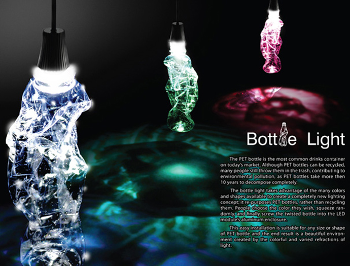 plastic lighting Creative & Inspiring Modern Ideas of How To Recycle Plastic Bottles  homesthtics (25)