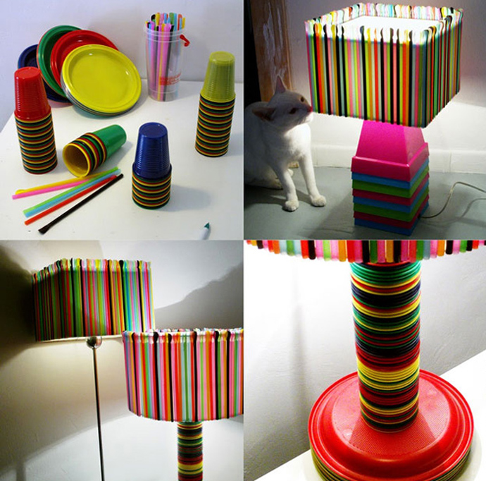 Creative Inspiring Modern Ideas Of How To Recycle Plastic Straws
