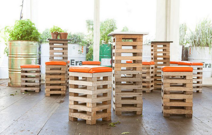 tabiurets Creative & Inspiring Modern Methods of How to Recycle Wooden Pallets homesthetics (1)