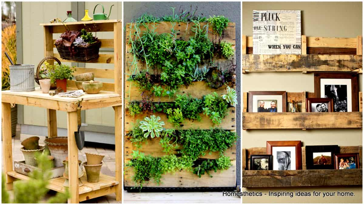 Creative amp Inspiring Modern Methods of How to Recycle Wooden Pallets