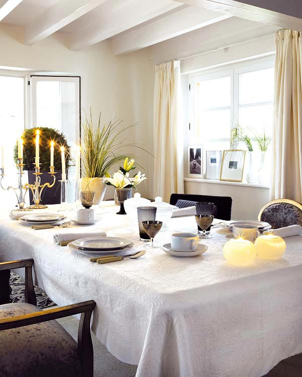 Creative&Inspiring Christmas Dinner Tables Settings and Decoration Ideas for any modern interior design homesthetics (13)