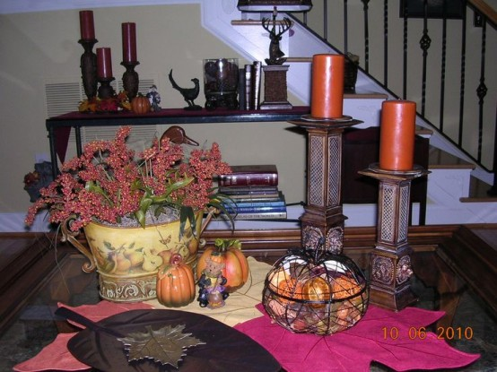 DIY -Welcome the Fall with Merry Decorations for Your Coffee Table  contemporary interior design ideas homesthetics (42)