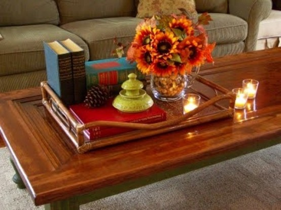 speical flowers arrangement DIY -Welcome the Fall with Merry Decorations for Your Coffee Table  contemporary interior design ideas homesthetics (42)