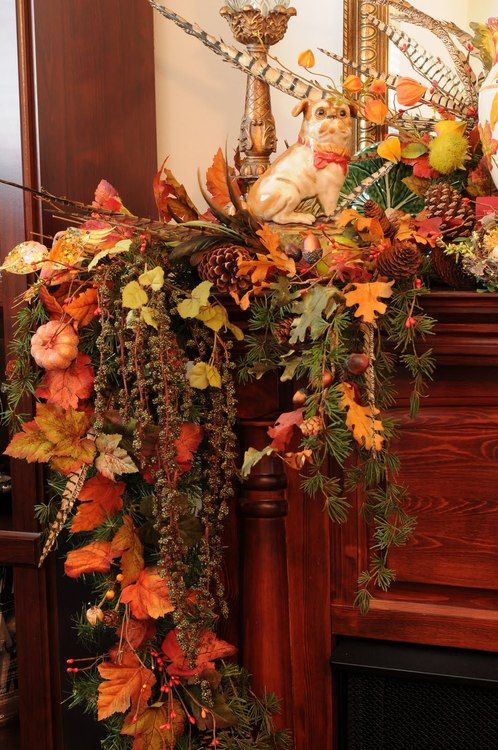 DIY -Welcome the Fall with Simple and Efficient Staircase Décor-homesthetics (10)