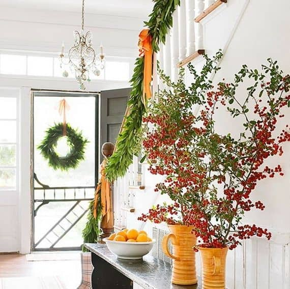 DIY -Welcome the Fall with Simple and Efficient Staircase Décor-homesthetics (12)